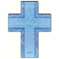 Personalized Twinkling Star Cross Prayer 4 - Morning Prayer