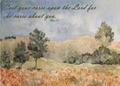 Peter 5:7 - Inspirational Images by Ruth Bush