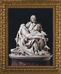 Pieta by Michelangelo - 4 Framed Options - Christian Art
