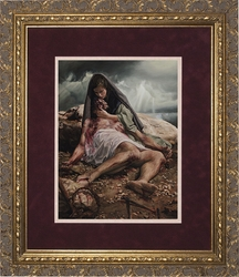 Pieta (Matted) by Jason Jenicke - 2 Matted & Framed Options