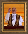 Pope Francis Arrives on Balcony - 3 Framed Options
