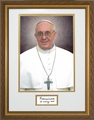 Pope Francis Formal - Matted & Framed With Signature