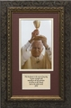 Pope John Paul II with Chalice with Prayer Framed