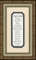 Prayer of Jabez - Framed Christian Inspirational Art
