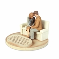 Praying Couple - Devoted Sculpture Series