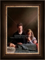 Praying Over Son by Lars Justinen - 28 Framed & Unframed Options