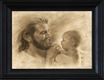 Precious by David Bowman - Jesus with Baby - 8 Framed & Unframed Options