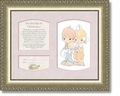 Precious Moments® Child Dedication - Girl Matthew 19:14 by Heartfelt