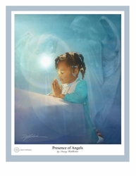 Presence of Angels by Danny Hahlbohm - 4 Unframed Options