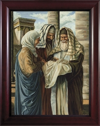 Presentation in the Temple by Jason Jenicke - 2 Framed Options