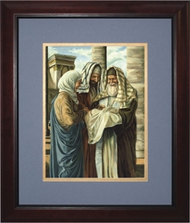 Presentation in the Temple (Matted) by Jason Jenicke - 2 Framed Options