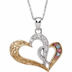 Protected by Love Necklace