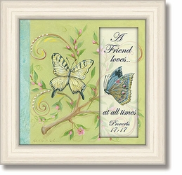 Proverbs 17:7 Framed Tabletop Home Decor Art by Heartfelt