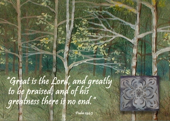 Psalm 144:3 - Inspirational Images by Ruth Bush