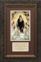 Queen of Angels by William Adolphe Bouguereau - Framed Christian Art
