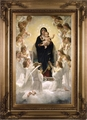 Queen of the Angels by William Adolphe Bouguereau (Gold Museum Frame) - 4 Options