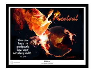 Revival by Danny Hahlbohm - 2 Unframed Options