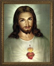 Sacred Heart (Traditional) - 4 Framed Options