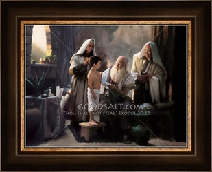 Saint Luke, The Gospel Physician by Lars Justinen - 28 Framed & Unframed Options