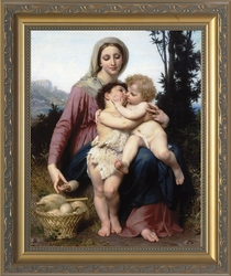 Sainte Famille by William Adolphe Bouguereau - 3 Framed Options