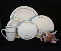 Scripture Tableware God's Promises