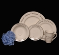 Scripture Tableware Identity Collection