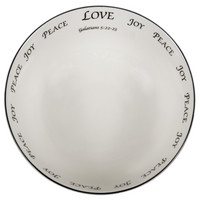 Scripture Tableware Large Pasta Bowl