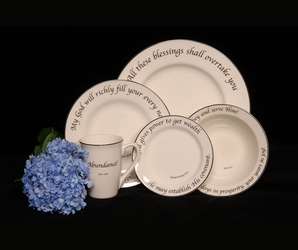 Scripture Tableware Prosperity Collection