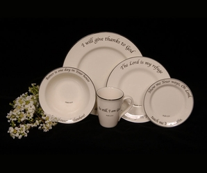 Scripture Tableware Psalms Collection