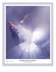 Sending of the Comforter by Danny Hahlbohm - 5 Unframed Options