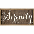 Serenity Prayer Framed Art - Christian Home & Wall Decor