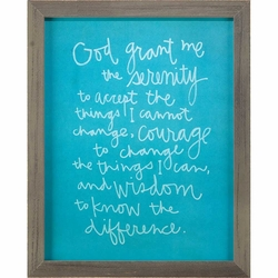 Serenity Prayer Home Decor - Christian Home & Wall Decor
