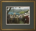 Sermon on the Mount by Jason Jenicke - Matted w/Gold Frame
