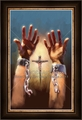 Set Free By The Cross by Lars Justinen - 28 Framed & Unframed Options