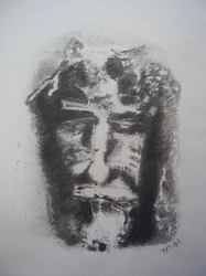 Shroud Of Turin by Fatima Slonim