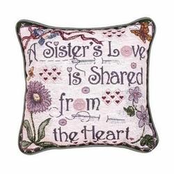 Sisters Love Pillow