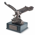 Large Soaring Eagle Inspirational Sculpture