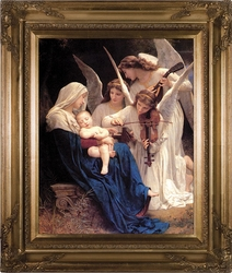 Song of Angels (Matted, Gold Museum Frame)