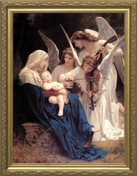 Song of Angels - 3 Standard Gold Framed Options - Christian Art