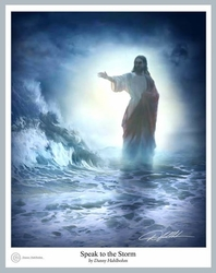 Speak to the Storm by Danny Hahlbohm - 5 Unframed Options