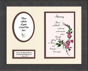 Stairway To Heaven Framed Sympathy Gift