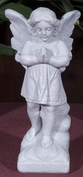 Standing Praying Angel Outdoor Statue