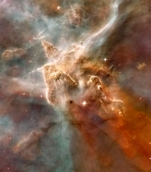Star Forming Region of Carina Nebula - 2 Options Available