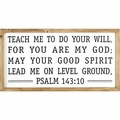 Teach Me To Do Your Will Christian Home & Wall Decor
