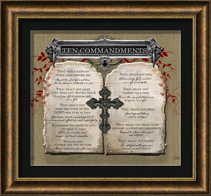 Religious Wall Decor ten commandments christian wall decor | lordsart