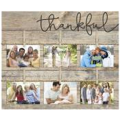 Thankful Pallet Decor Photo Frame - Christian Home & Wall Decor