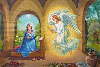 The Annunciation  by Venetia Epler - 2 Unframed Options