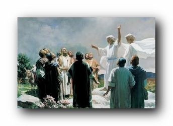 The Ascension of Jesus by Harry Anderson - Unframed Christian Art