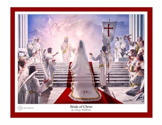 The Bride of Christ by Danny Hahlbohm - 6 Unframed Options