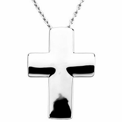 The Covenant of Prayer Unadorned Cross Pendant & Chain
